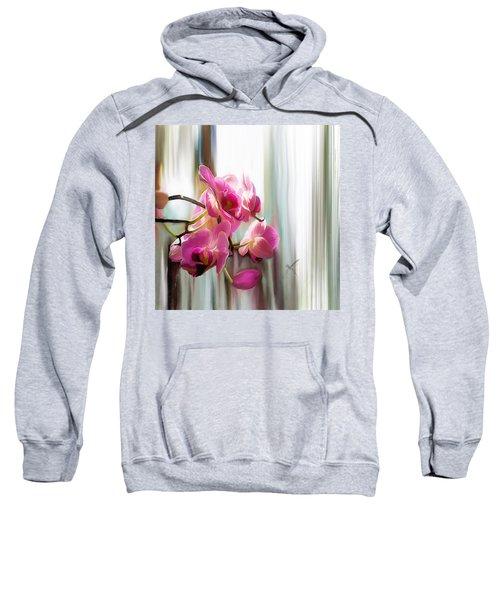 Morning Light Orchids Sweatshirt