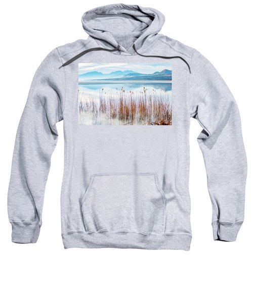 Morning Mist On The Lake Sweatshirt