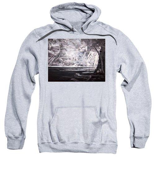 Morning Mist -theresa Falls Sweatshirt