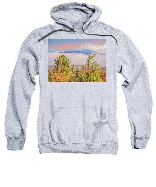 Morning Mountain View Northern New Hampshire. Sweatshirt