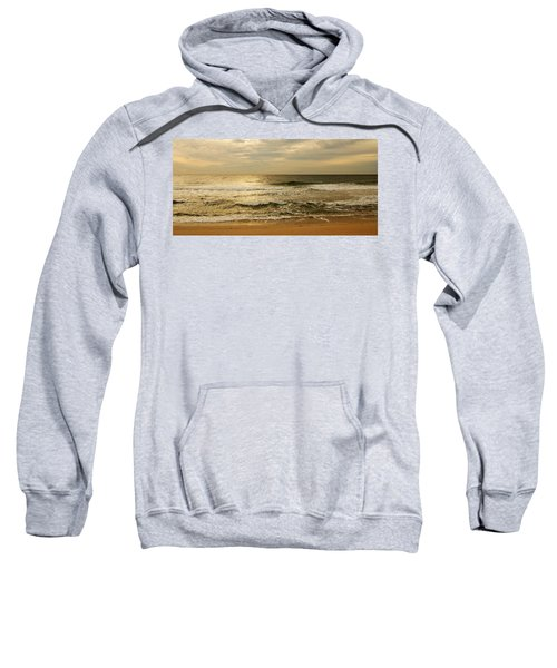 Morning On The Beach - Jersey Shore Sweatshirt