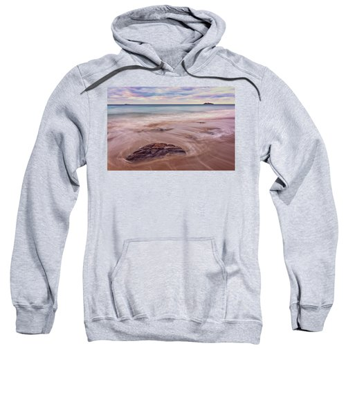 Morning Pastels Singing Beach Ma Sweatshirt