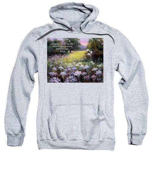 Morning Praises With Bible Verse Sweatshirt