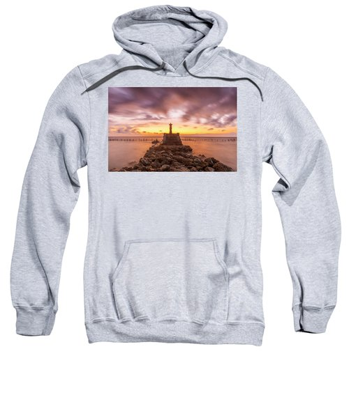 Morning Scene In Nusa Penida Beach Sweatshirt
