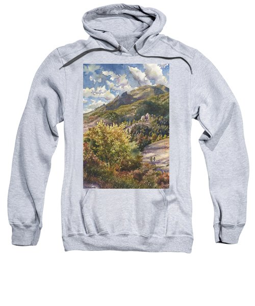 Morning Walk At Mount Sanitas Sweatshirt