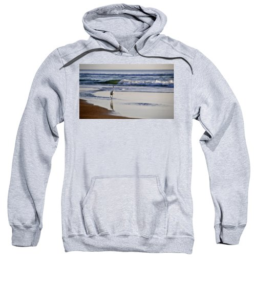 Morning Walk At Ormond Beach Sweatshirt
