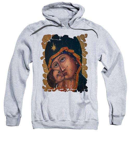 Mother Of God Fresco  Sweatshirt