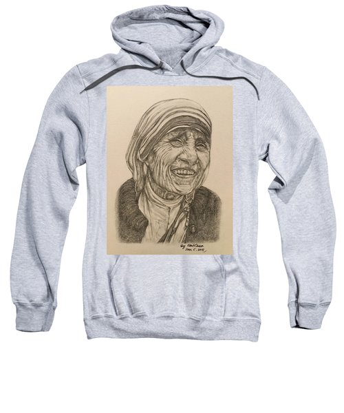 Mother Theresa Kindness Sweatshirt by Kent Chua