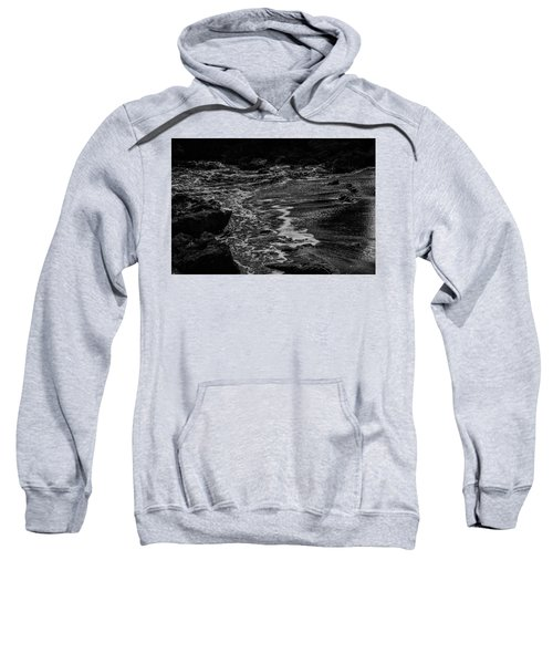 Motion In Black And White Sweatshirt