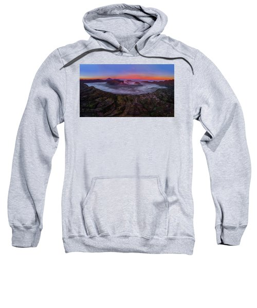 Mount Bromo Misty Sunrise Sweatshirt
