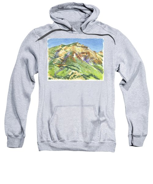 Mount Diablo From Curry Valley Ridge Sweatshirt