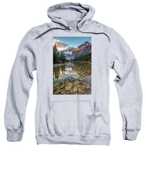 Mount Edith Cavell Sunrise Sweatshirt