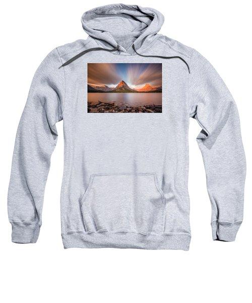 Mount Grinnell Sunrise Sweatshirt