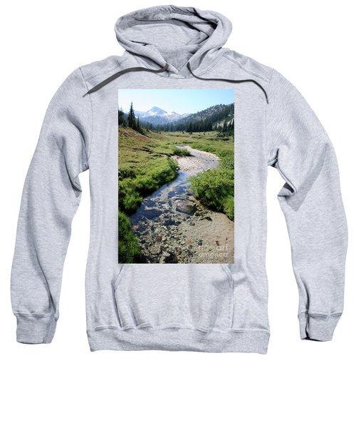 Mountain Meadow And Stream Sweatshirt