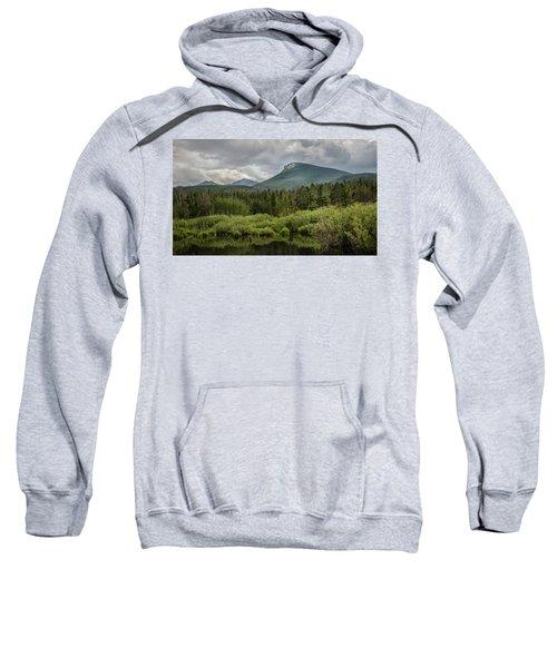 Mountain View From The Marsh Sweatshirt