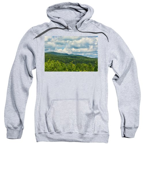 Mountain Vista In Summer Sweatshirt