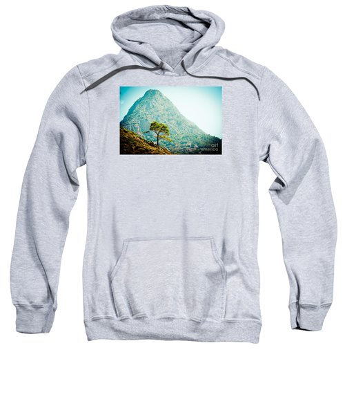 Mountain With Pine Artmif.lv Sweatshirt