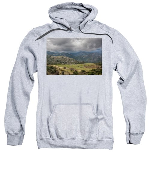 Mountains And Clouds Sweatshirt