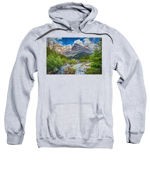 Mountains And Stream Sweatshirt