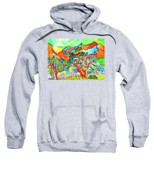 Mountains At Collioure Sweatshirt