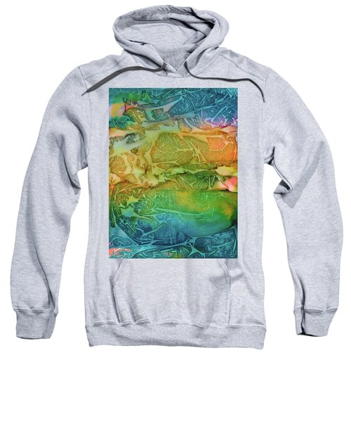 Mountains, Trees, Icy Seas Sweatshirt