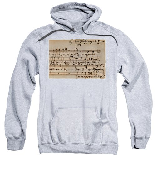 Mozart: Motet Manuscript Sweatshirt