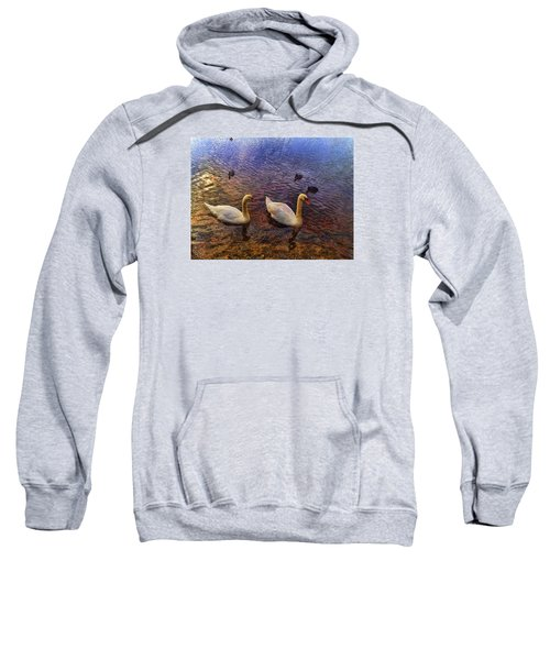 Mr And Mrs Swan Go Viisiting Sweatshirt