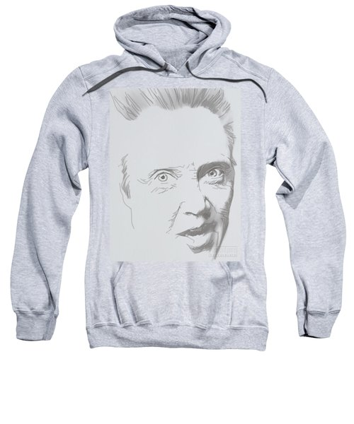 Sweatshirt featuring the mixed media Mr. Walken by TortureLord Art