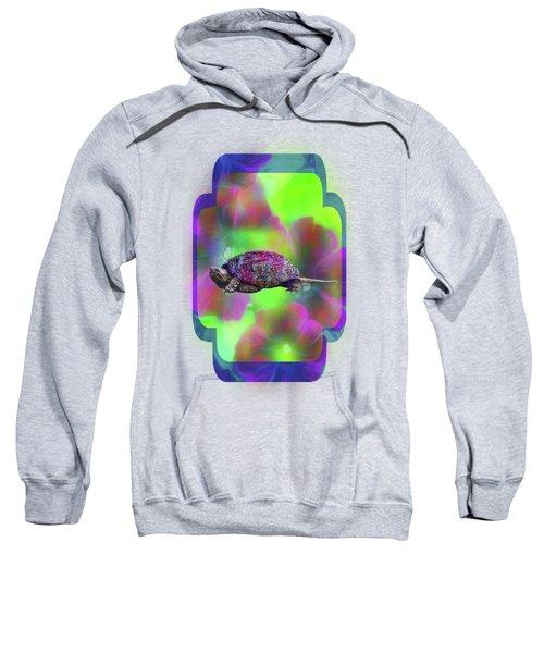 Ms Curlie Sweatshirt by Linda Troski