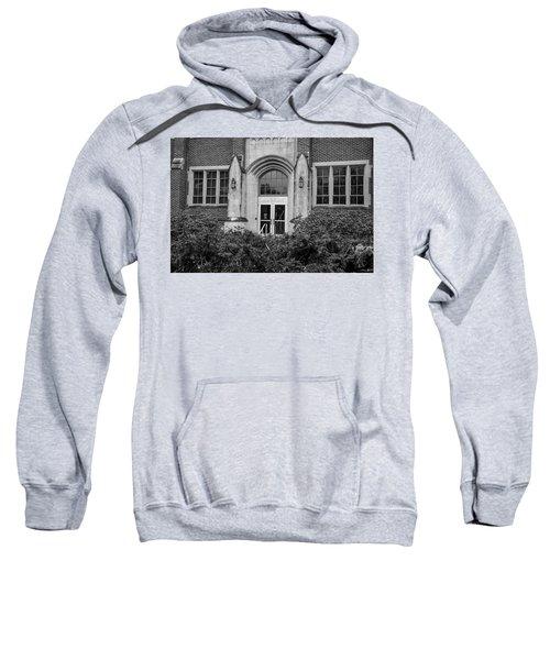 Msu Museum Black And White  Sweatshirt