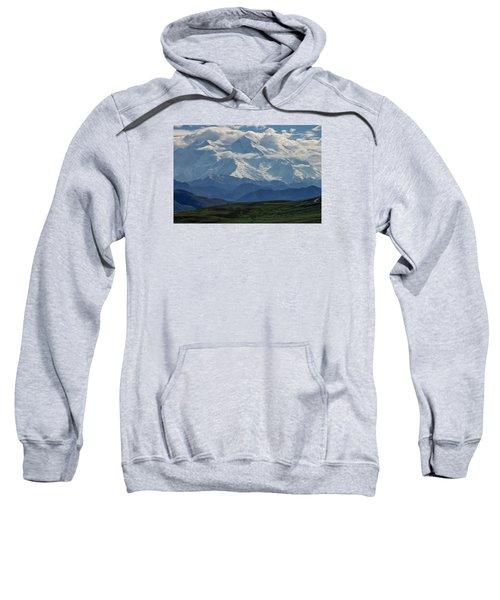 Sweatshirt featuring the photograph Denali by Gary Lengyel