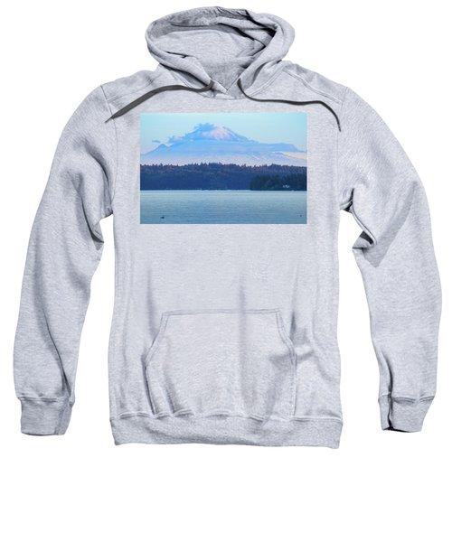 Mt. Rainier From Manchester Sweatshirt