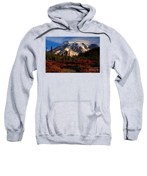Mt. Rainier Paradise Morning Sweatshirt
