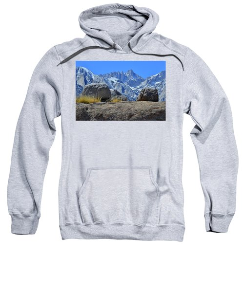 Mt. Whitney - Highest Point In The Lower 48 States Sweatshirt