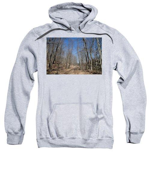Sweatshirt featuring the photograph Mud Season In The Adirondacks by David Patterson
