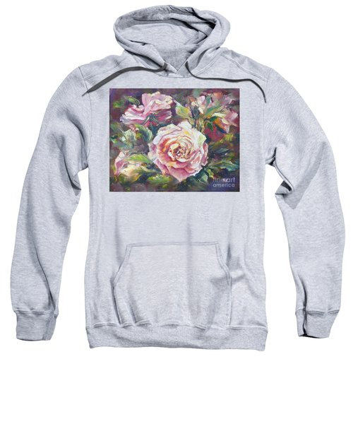 Multi-hue And Petal Rose. Sweatshirt