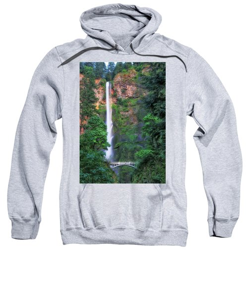 Multnomah Falls Portland Oregon Sweatshirt