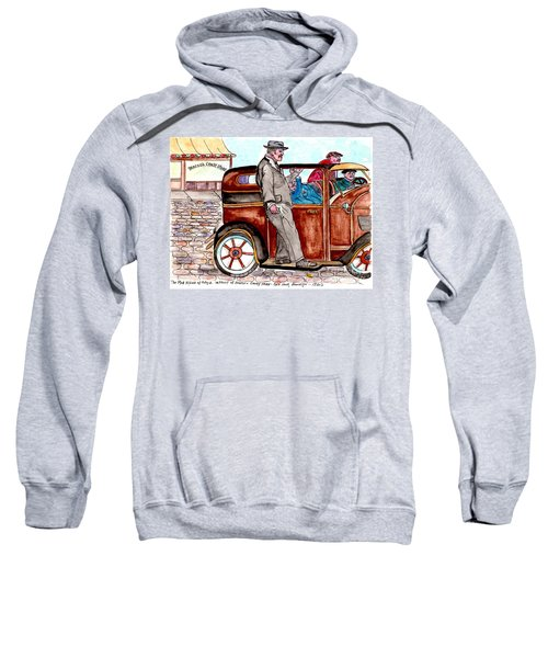 Murder On Hamilton Avenue, Red Hook, Brooklyn Sweatshirt