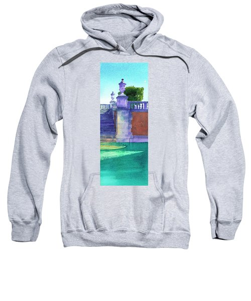 Pool At Viscaya, Miami Sweatshirt
