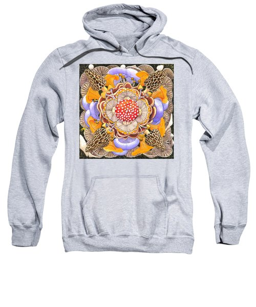 Mushroom Mandala Sweatshirt
