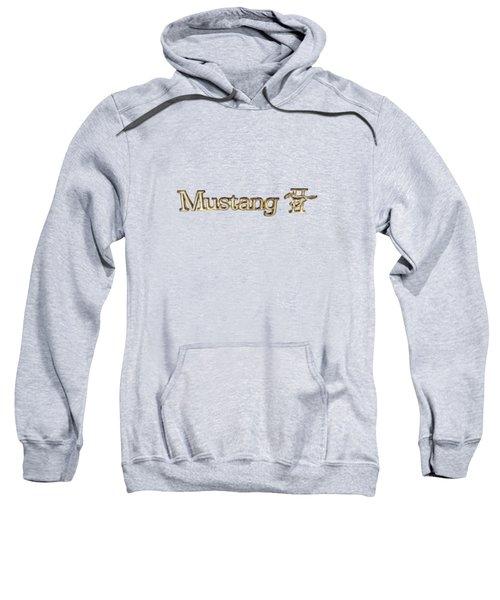 Mustang II Chrome Emblem Sweatshirt