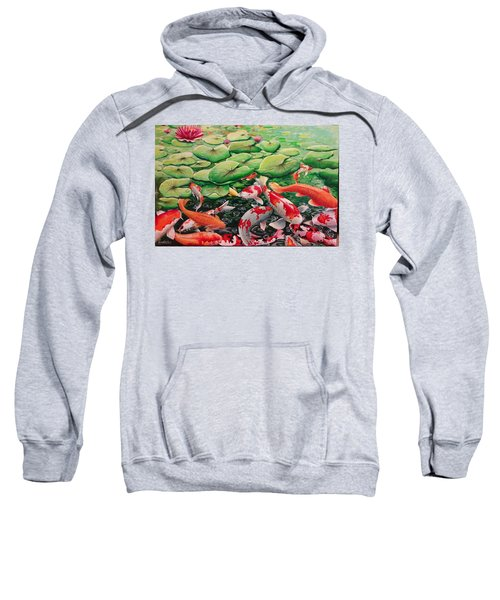 My Backyard Pond Sweatshirt