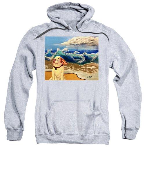 My Dog And The Sea #1 - Beagle Sweatshirt