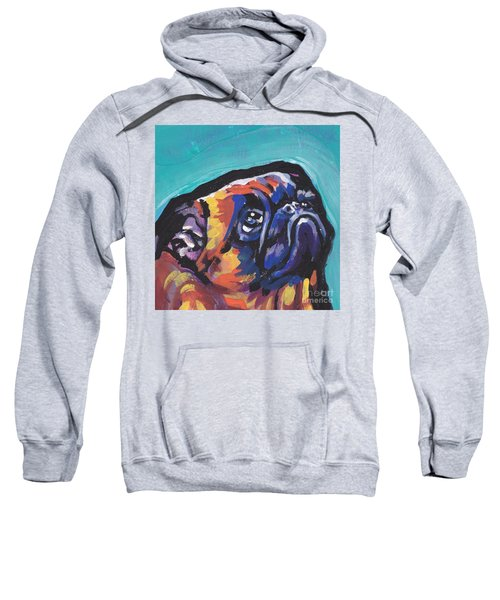 My Eyes Adore You Sweatshirt by Lea S