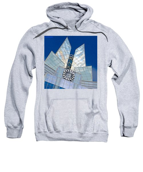 My Favorite #building In #myhometown Sweatshirt by Austin Tuxedo Cat