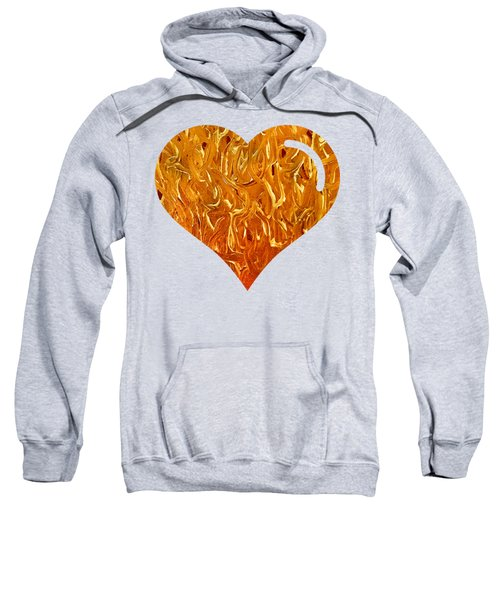 My Heart Is On Fire Sweatshirt