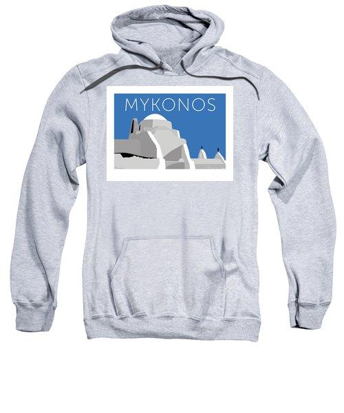 Mykonos Paraportiani - Blue Sweatshirt
