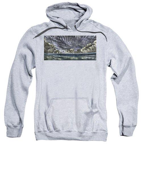 Myrtle Beach Hand Tinted Panorama Sunrise Sweatshirt