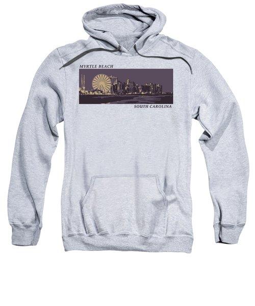 Myrtle Beach, Sc Skyline Sweatshirt