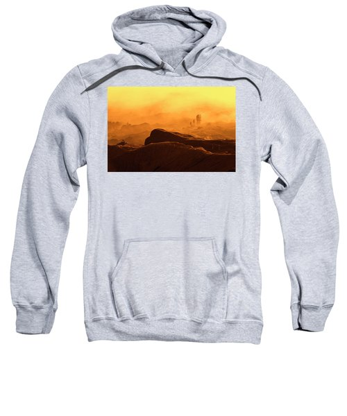 mystical view from Mt bromo Sweatshirt